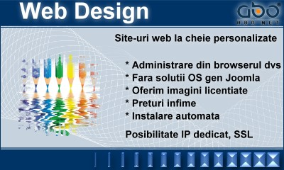 Web Design AUTOMATIC Hosting gazduire hosting romania .ro .com